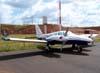 Piper/Embraer EMB-810C Seneca II, PT-ERD, da Avalon Táxi Aéreo, que fica sediada no Aeroporto de Bacacheri em Curitiba/PR. (30/04/2007)