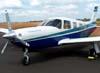 Piper Saratoga II TC, N9288X, estacionado no aeroporto Dr. Mário Pereira Lopes, em São Carlos. (30/04/2007). Foto: Rodrigo Zanette