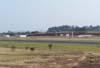 Vista da área reservada para a aviação geral. (31/08/2007)