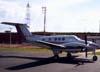 Beechcraft King Air F90, PT-LTT, do Grupo Encalso (Residenciais Damha). (01/01/2004)