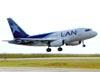 Airbus A318-121, CC-CZJ, da LAN. (12/04/2011)