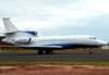 Dassault Falcon 7X, PR-DNZ, do Grupo Pão de Açúcar. (14/03/2009)