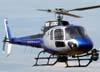 """Eurocopter AS-350 B2 """"Esquilo"""" (Globocop), PR-HTV, da Rede Globo, operado pela Helisul Táxi Aéreo, taxiando no Aeroporto de São Carlos. (14/03/2009)"""