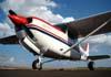 Cessna 172 Cutlass RG II, PT-OMF, do Aeroclube de Catanduva, estacionado no aeroporto de São Carlos. (26/09/2009)