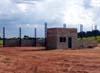 Construção do hangar do Aeroclube de São Carlos. (28/02/2006)