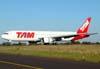 Boeing 767-33AER, PT-MSU, da TAM. (28/08/2009)
