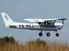 Cessna 152 II, PR-ACJ, do Aeroclube de Jundiaí. (28/08/2009)