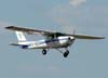Cessna 152 II, PR-ADO, do Aeroclube de Jundiaí. (28/08/2009)