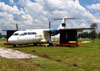 Demonstra��o do Recovery Kit no ATR 42-300, PT-MFU, da Pantanal, no TAM MRO. (28/11/2012)