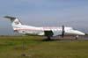 Embraer EMB-120RT Brasília, PR-OAN, ex-America Air, devolvido para a OceanAir, onde voava com o mesmo prefixo, pintado de cor de laranja. (27/04/2007) Foto: Júnior JUMBO - Grupo Ases do Céu.