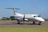 Embraer EMB-120RT Brasília, PR-OAN, ex-America Air, devolvido para a OceanAir, onde voava com o mesmo prefixo, pintado de cor de laranja. (11/04/2007) Foto: Júnior JUMBO - Grupo Ases do Céu.