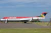 Fokker 100 MK-28, PR-OAL, da OceanAir, ex-N1440A, da American Airlines. (03/03/2007) Foto: Júnior JUMBO - Grupo Ases do Céu.