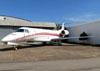 Embraer EMB 135BJ Legacy 600, PR-ITU, do Grupo Gandini, estacionado no aeroporto de Sorocaba. (13/05/2013)