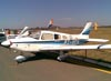 Piper/Neiva EMB-712 Tupi, PT-VFH, do Aeroclube de Batatais. (07/08/2010) Foto: Sérgio Cardoso.