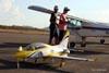 Viperjet (aeromodelo). (05/06/2011) Foto: Sheila Saad.