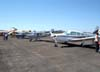 Aeronaves estacionadas no pátio. Foto: AFAC - afacjirg@yahoo.com.br