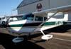 Cessna 172, PT-AZQ. Foto: AFAC - afacjirg@yahoo.com.br