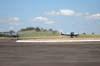 Dois Ultravia/Flyer Pelican 500 BR taxiando em direção a cabeceira 12. Foto: AFAC - afacjirg@yahoo.com.br