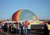 Balão S-23, PT-ZMF, sendo inflado. Foto: AFAC - afacjirg@yahoo.com.br
