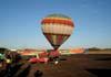Balão S-23, PT-ZMF, pronto para voar. Foto: AFAC - afacjirg@yahoo.com.br