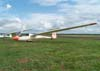 Planador ASW-20, do aeroclube de Brasília.