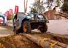 Jeep participando do rally. Além de aeronaves, o Anjo da Guarda Fest conta também com shows automobilísticos. Foto: Sandro Rocha - sandro@anjodaguardafest.com.br