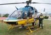 Bell 407, PT-YZJ, da Polícia Rodoviária Federal. Foto: Sandro Rocha - sandro@anjodaguardafest.com.br
