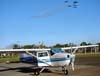 Cessna 172M Skyhawk, PT-JJD. (30/08/2009) Foto: Marcelo Faé Ferreira.