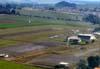 Vista aérea do aeroporto de Araras. Foto: Ricardo Rizzo Correia.