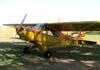 Neiva P-56C Paulistinha, PP-GXU, do Aeroclube de Araras. Foto: Ricardo Rizzo Correia.