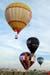 Decolagem dos balões.