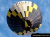 Balão do piloto brasileiro Wagner Pascoalino, prefixo PP-XKA.