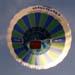 Balão Rubic III, PP-XNI, logo após a decolagem. (23/06/2007)