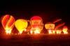 Balões durante o espetáculo do Night Glow. (23/06/2007)