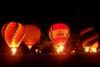 Balões durante o pica-pisca do Night Glow. (23/06/2007)