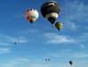 Balões invadindo o céu de Rio Claro. (23/06/2007)