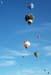 Balões colorindo o céu de Rio Claro. (23/06/2007)