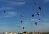 Balões dirigindo-se ao alvo. (23/06/2007)