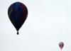 Balões sobrevoando Rio Claro (SP). (25/07/2014)