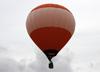 Balão sobrevoando Rio Claro (SP). (25/07/2014)