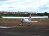 Ultraleve avançado Tecnam P-92 Echo, PU-HLC, montado pela Microleve.