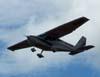 Ultraleve avançado Rupert Vimana R-12, PU-REQ, decolando de Batatais.