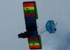 Flyer GT, PU-RFS, sobrevoando o aeroporto de Batatais.