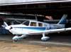 Piper/Neiva EMB-712 Tupi, PT-VFH, do Aeroclube de Batatais, dentro do hangar.