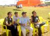 Atenção total dos juízes da ACRO (Associação Brasileira de Acrobacias Aéreas) durante o Campeonato Brasileiro de Acrobacias Aéreas. Cuidado para não ficarem com torcicolo... Passaram o protetor solar? Capricha na nota, Beto! (26/04/2008) Foto: João Thiago Domingues