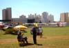 Área de operações do Campeonato Brasileiro de Acrobacias Aéreas. (26/04/2008) Foto: João Thiago Domingues