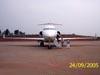 Bombardier BD-700-1A11 Global 5000, N140AE, da Bombardier. (24/09/2005)