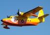 Grumman HU-16A Albatross, PP-ZAT, do Circo Aéreo (Esquadrilha Oi), fazendo uma demonstração no Broa Fly-in, em Itirapina (SP). (18/06/2011)