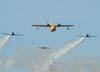 Circo Aéreo (Esquadrilha Oi) e Comandante Richieri.