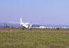 Decolagem de um Cessna 208A Caravan (PT-OGX).
